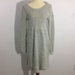 LC Lauren Conrad Sweater Dress Marbled Gray